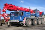 Mobile crane rental 50 t
