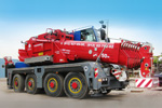 Mobile crane rental 70 t