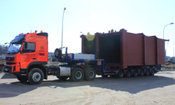 Oversize and heavy transport
