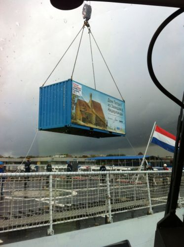 loading and transportation of containers