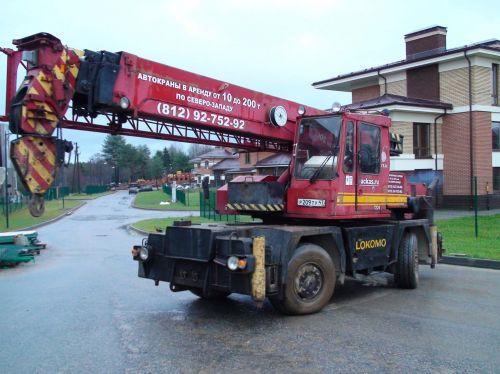 truck crane Lokomo MS 333 BXT