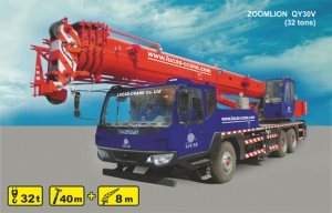 (32 tons) ZOOMLION QY30V for rent