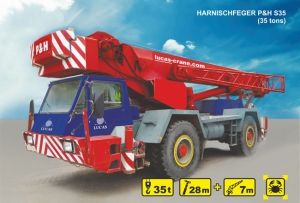 (35 tons) HARNISCHFEGER P&H S35 for rent